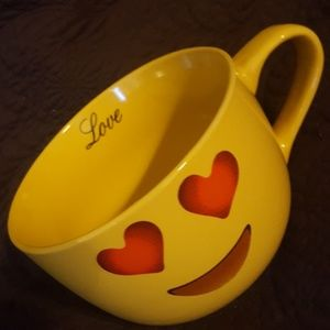 Extra Large 32oz Coffee Mug Love Emoji